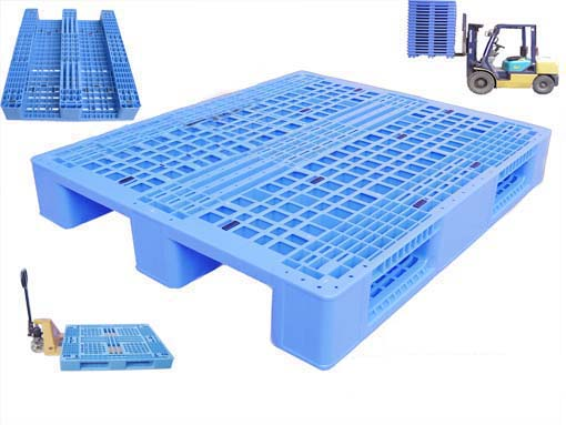 Plastic trasportation pallet mould
