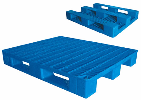 Double sides pallet mould